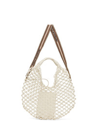 Stella McCartney Off White Knotted Tote