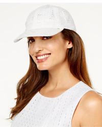 Lauren Ralph Lauren Eyelet Baseball Cap