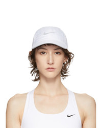 Nike White Featherlight Cap