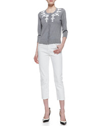 Kate Spade New York Broome Street Capri Pants Fresh White