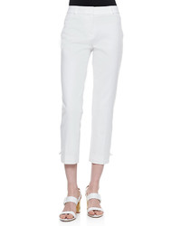 Kate Spade New York Jackie Capri Pants Fresh White
