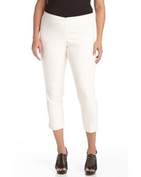 Plus size stretch capri pants medium 6793084