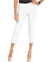 Tummy control pull on capri pants only at macys medium 127161