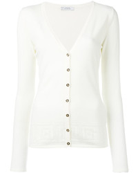 Versace Collection V Neck Cardigan