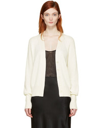 Calvin Klein Collection Ivory Oversized Eros Cardigan