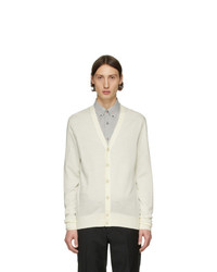 Tiger of Sweden Off White Navid Cardigan