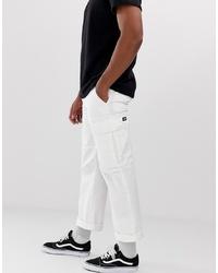 Dickies New York Cargo Trouser In White
