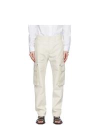 Fendi Off White Removable Pocket Cargo Pants