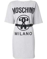 Moschino Belted T Shirt Dress