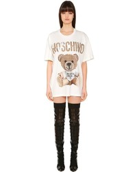 Moschino Cardboard Bear Cotton T Shirt Dress