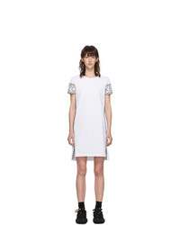 Kenzo White Short Logo Sport T Shirt Dress