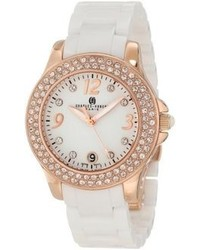 Swarovski Charles Hubert Paris 6789 Wrg Premium Collection Ceramic And Stainless Steel With Crystal Watch
