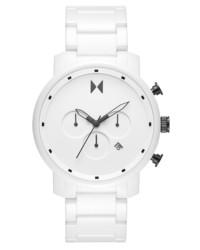 MVMT Chronograph Ceramic Bracelet Watch