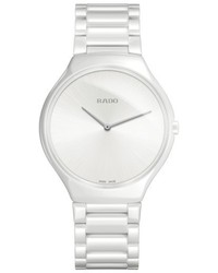 Rado True Thinline Ceramic Bracelet Watch 39mm