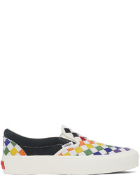 Vans Multicolor Suede Pride Classic Slip On Vlt Lx Sneakers