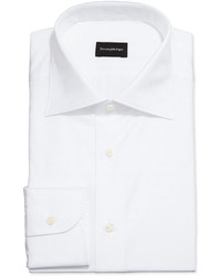 White Check Dress Shirt