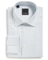 Big tall regular fit check dress shirt medium 595585