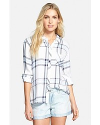 Hunter plaid shirt medium 226691