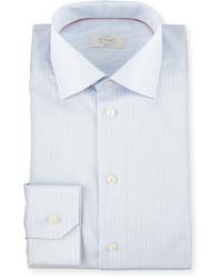 Slim fit grid check dress shirt medium 588957