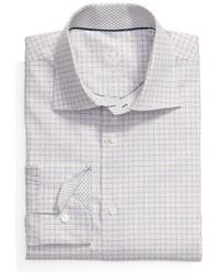 Trim fit check dress shirt medium 5360538