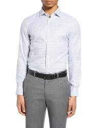 Nordstrom Men's Shop Fit Non Iron Plaid Dress Shirt