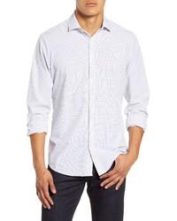 Mizzen+Main Fit Windowpane Shirt