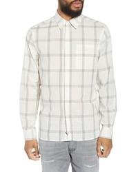 Saturdays Nyc Mickey Windowpane Woven Shirt