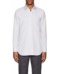 Brioni Micro Checked Cotton Dress Shirt