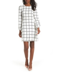 J.Crew Windowpane Check Dress