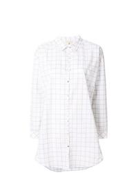 Cotélac Checked Shirt Dress