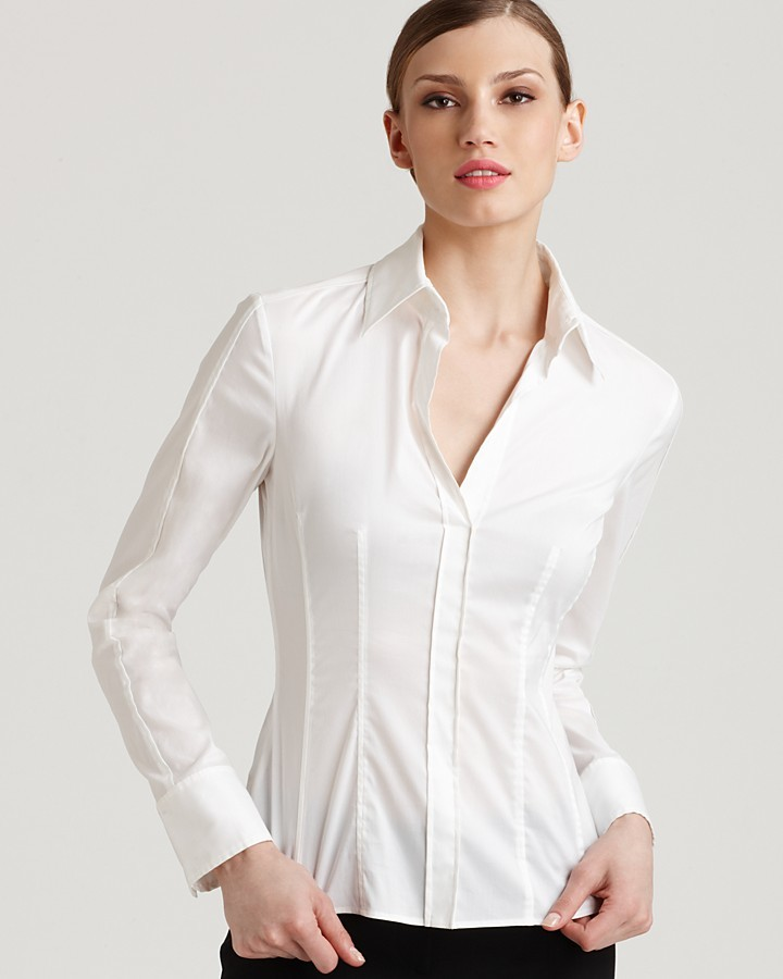 478e59e92 Hugo Boss Boss Bashina Button Down Blouse, $195 | Bloomingdale's ...
