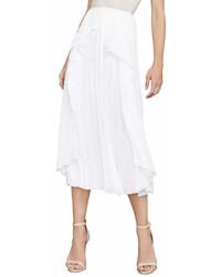 Bcbg bre pleated midi skirt medium 6987211