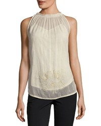 Fleur beaded tank medium 4416292