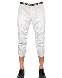 DSquared 195cm Cotton Ramie Chino Trousers