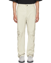 A-Cold-Wall* Beige Ruche Technical Trousers