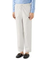 Gucci Cotton Canvas Pants
