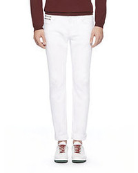 Gucci Cotton Skinny Trousers