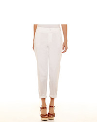 Liz Claiborne Cropped Chino Pants