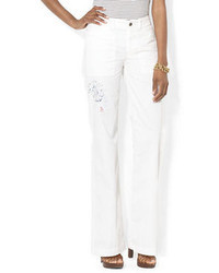 Lauren Ralph Lauren Wide Leg Chino Pants