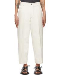 Kuro Off White J Press Originals Edition Straight Leg Jeans