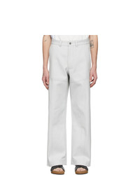 Jacquemus Off White Le Pantalon Terraio Trousers