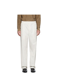 Lemaire Off White Trousers