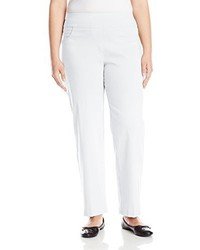 Ruby rd plus size pull on solar millennium pant medium 3666107