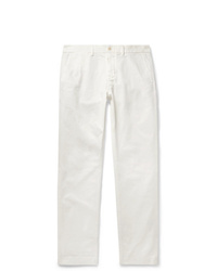 Alex Mill Slim Fit Cotton Blend Twill Chinos