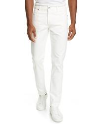 Eleventy Slim Fit Stretch Cotton Five Pocket Pants