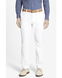 Straight fit washed chinos medium 661310