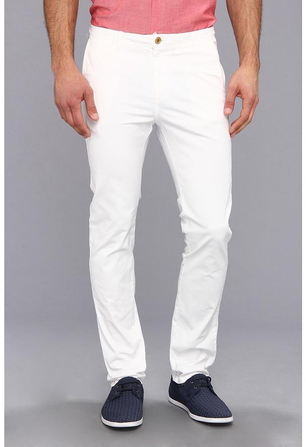 d000ee82d33e0d Scotch & Soda Stuart Slim Fit Chino Pant, $115 | Zappos | Lookastic.com
