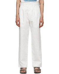 COMMAS White Tailored Trousers