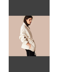 Burberry Knitted Cashmere Belted Cardigan