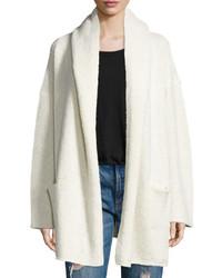 Oversized open front hooded cardigan medium 764363